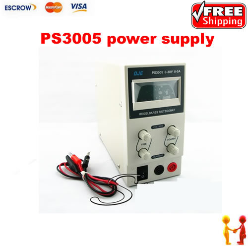 New fine PS3005 Digital adjustable,Portable DC Switching Power Supply, 30V, 5A, LCD display new digital 6 30