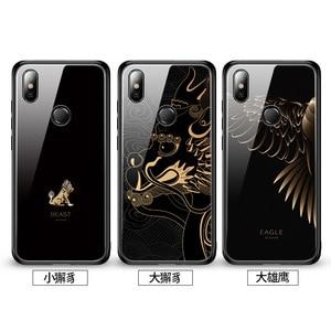 Image 5 - Gehard Glas Telefoon Case Voor Xiao mi rode Mi note 7 Pro xiao Mi Mi 8 mi 8 lite mi x 2 2 s mi x 3 case Luxe Aixuan Cover
