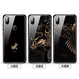 Image 5 - 強化ガラス電話ケースシャオ mi 赤 mi 注 7 プロシャオ mi mi 8 mi 8 Lite mi × 2 2 s mi × 3 ケース高級 Aixuan カバー