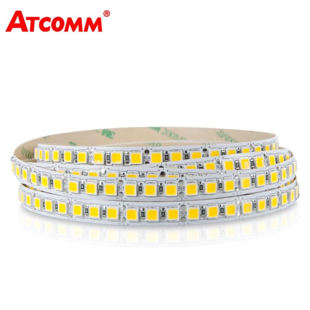 5054 LED Light Strip 5 Mètres 300 600 Led 12 V Flexible LED Diode Ruban Bande Lumière 5050 LED Bande Lumière Version Améliorée