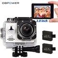 DBPOWER Original EX5000 Série WI-FI Câmera de Ação À Prova D' Água 1080 P 30fps Cam Ação Esporte Câmera Do Capacete SJ4000 SJ5000 Ir Pro