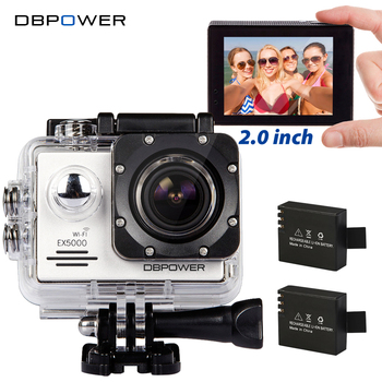 DBPOWER Original EX5000 WIFI Series Action Camera Waterproof 1080P 30fps Action Cam Sport Camera Helmet Go SJ4000 SJ5000 Pro