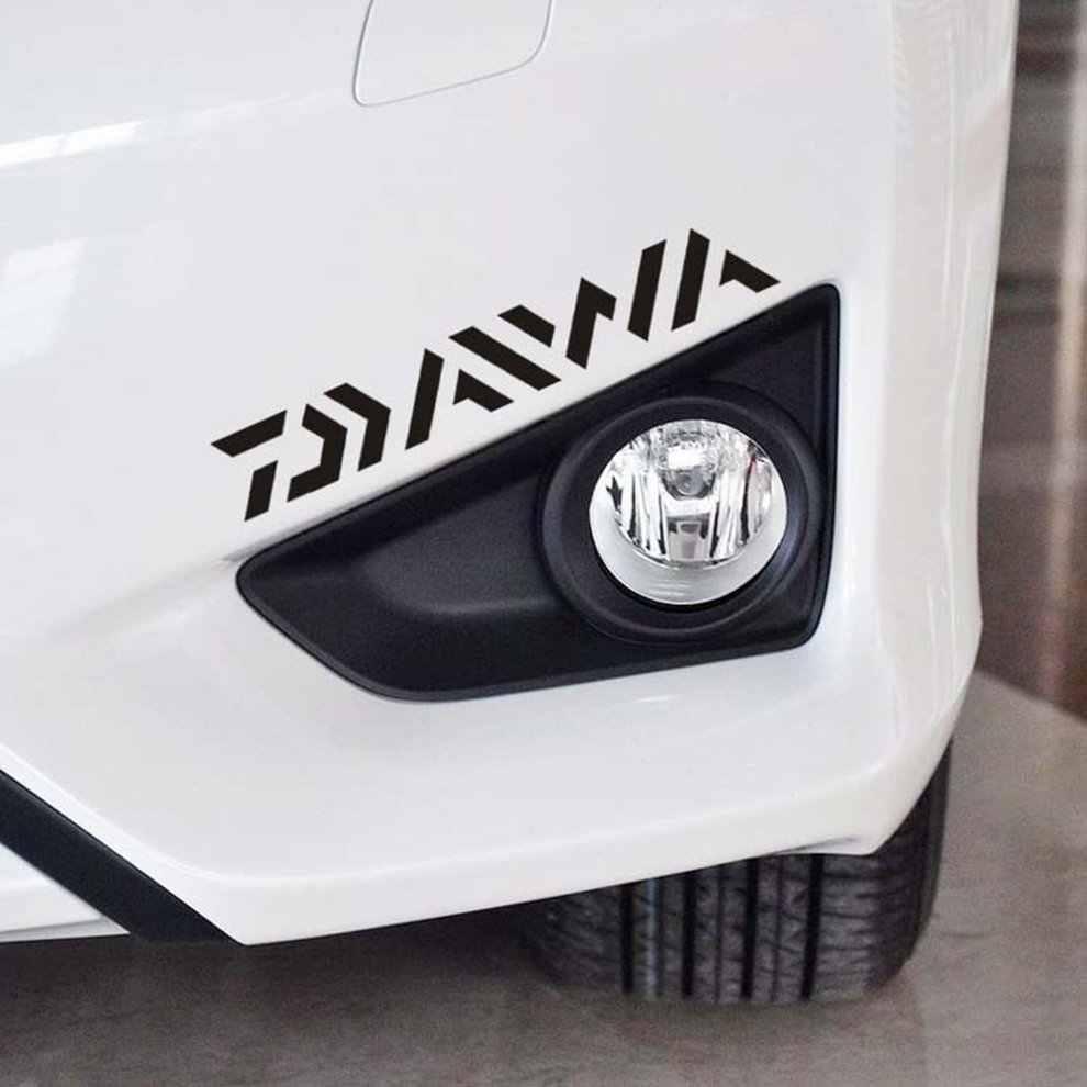 DAIWA Memancing Perahu atau Mobil Stiker Kreatif Sticker Set untuk Dinghy Tackle Kotak