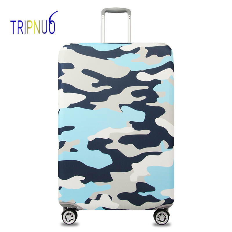 TRIPNUO Elastic Fabric Camo Luggage Protective Cover, Suitable18-32 Inch , Trolley Case Suitcase Cover Travel Accessories