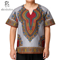 African Men Clothes Dashiki Tops Traditional T shirt Africa Man Clothing Summer Shirt Man Clothe Hip Hop Robe Africaine
