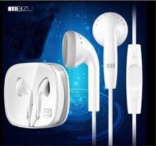D'origine EP21 HD MX3 MX4 MX5 Pro plat écouteurs avec micro et contrôle du volume in-ear cordon rond pour Meizu m1 m2 note ep-21hd.