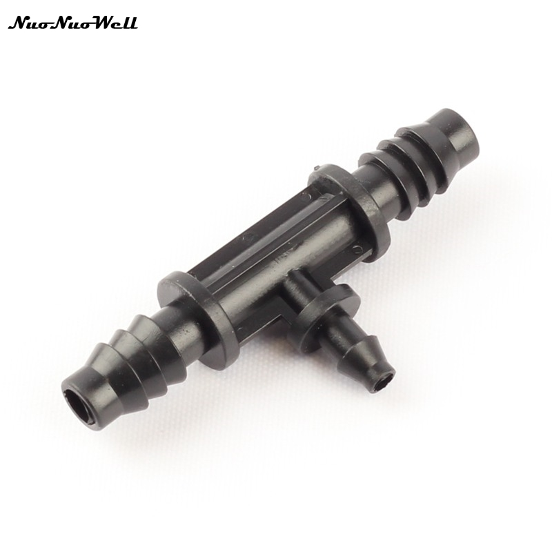 2 x 12mm Water Hose Pipe T Piece Connector Joiner Koi Fish Pond