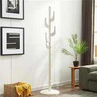 100% Wooden Coat Rack Standing With Hooks Wood Tree Coat Rack Stand For Coats Hats Scarves Clothes Handbags wooden clothes rack