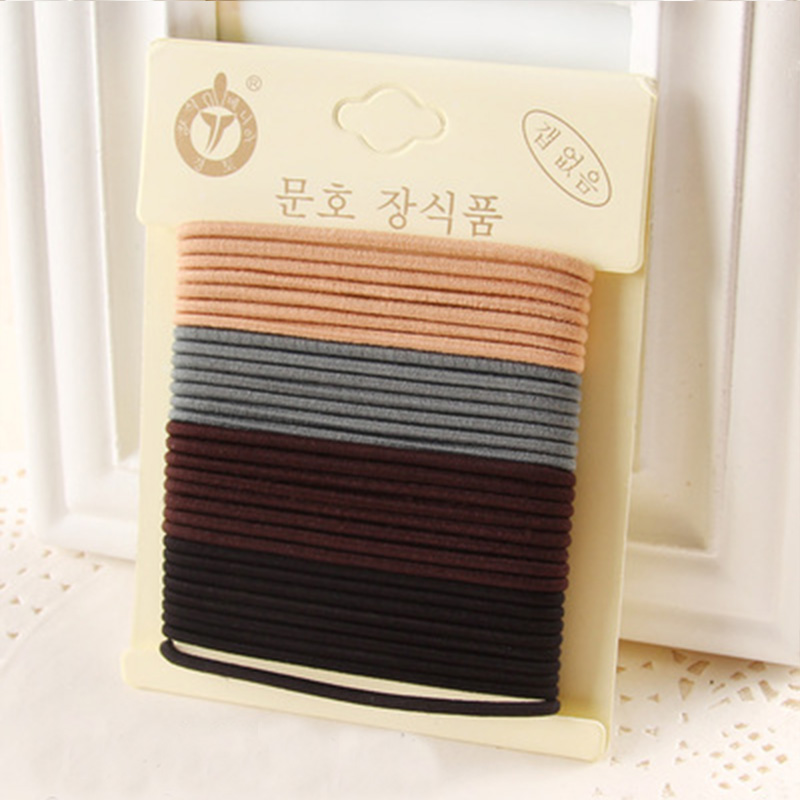 1 Pack Hohe Qualität Baumwolle Feste Elastische Haarband Stirnband - Bekleidungszubehör - Foto 6