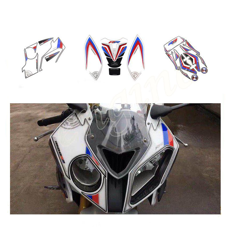 For BMW S1000RR S1000R R S 1000 RR 2012 2014 Motorcycle front and rear digital flow