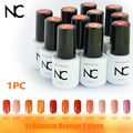 Vernis Permanent  Gelishgel Gel Nail Polish Orange Gel Polish Colors Wholesale Magnetic Skin Nail Varnish Gel UV Construtor