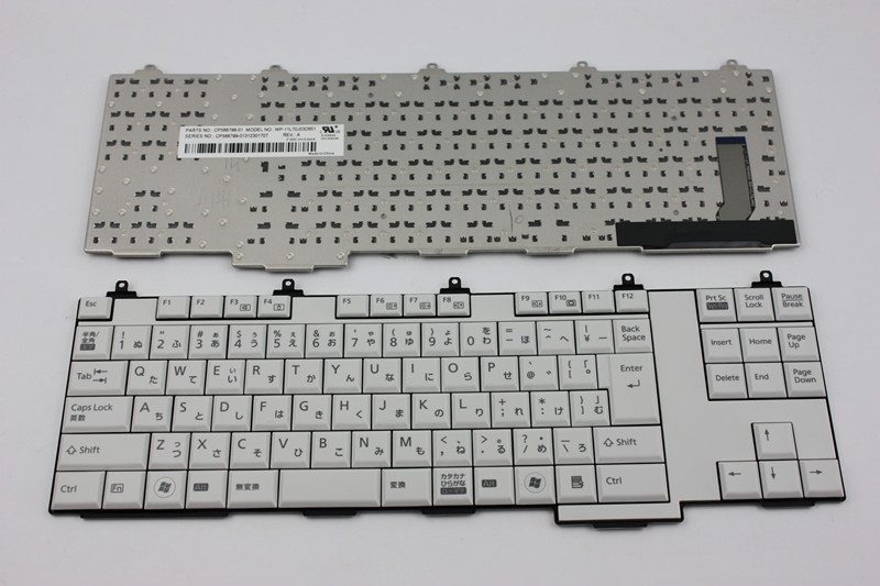 New notebook laptop keyboard for Fujitsu Lifebook E751 A561/C CP566799-01 MP-11L70J03D851 Japanese/JP/JA layout new notebook laptop keyboard for asus mp 06913us 5281 k012462a1 sp layout