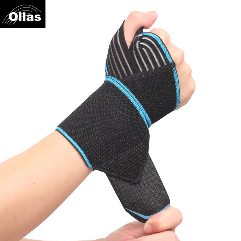 1pc Weight Lifting Fitness bandage hand wrist straps sport wristbands support wrist protector carpal tunnel brace gym wraps