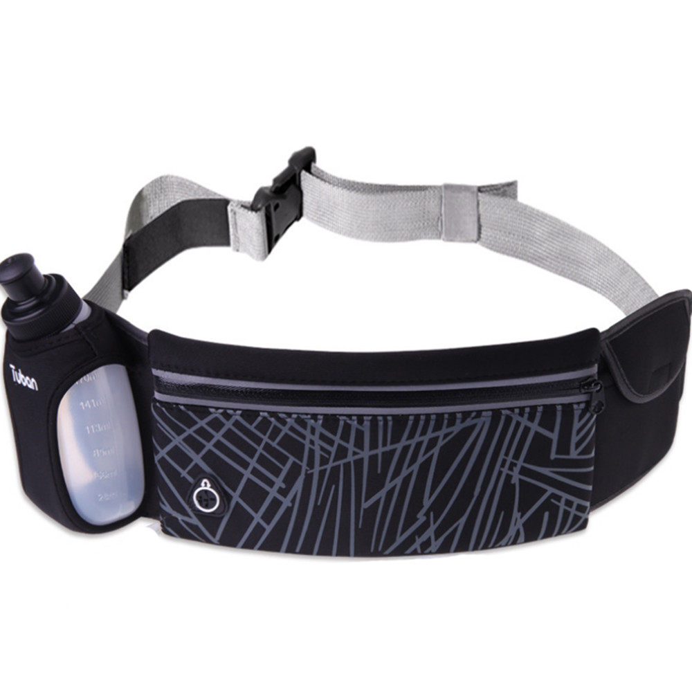 Sports Backpacks Belt Bags Drawstring Gym Bag Tuban Sport Runner Waist Bum Bag Running Jogging Pouch Belt 1 Free Water Bottles