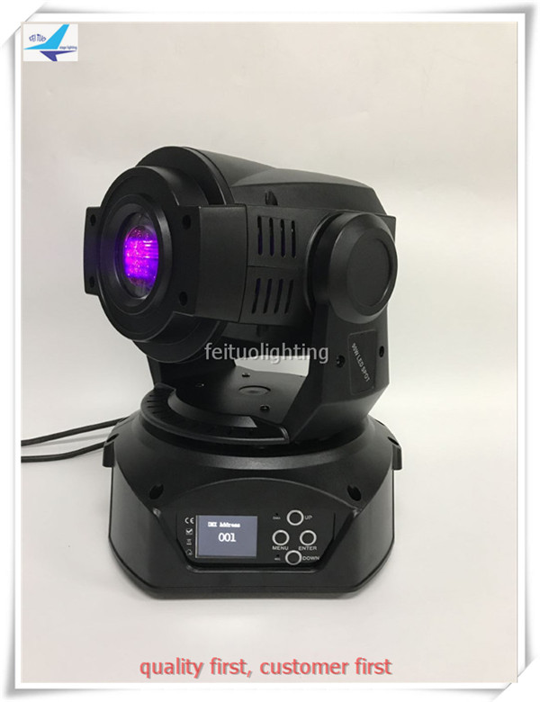 T- 4pcs/lot 90W LED Spot Moving Head Light dmx512 led 3 prism DJ Stage Party Disco Lighting