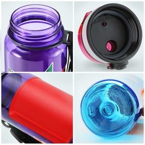 Image 5 - UZSPACE 스포츠 물병 대용량 남성 휴대용 크리 에이 티브 트렌드 주전자 야외 피트니스 공간 플라스틱 병 BPA 무료