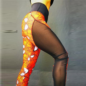 New Super Hero Print Women Push Up Legging 2