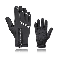 цены Full Finger Cycling Gloves Winter Touch Screen Thermal fleece bike Gloves MTB Sport Bicycle Guantes Women Men Guantes Ciclismo