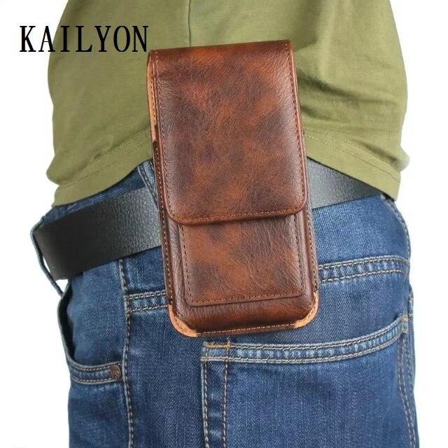 Outdoor Sports Leather Waist Belt Clip Phone Case Cover Bag Holster For Xiaomi 5 Mi 5 Mi5 / 5S mi5S / Redmi 3S Red mi 3 S