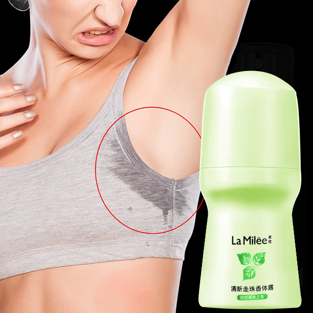 fresh ball body antiperspirants underarm deodorant roll on bottle women's Fragrance men smooth dry body essence 50ml