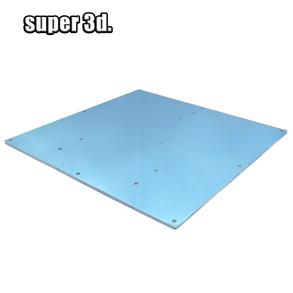 Integrated Circuits 3d Printers Reprapmk2 Hot Bed Aluminum Heating Plate Size 220* 220 *2mm