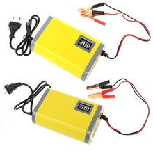 OOTDTY 12V 2A Car Motorcycle Smart Automatic font b Battery b font Charger Maintainer Trickle EU