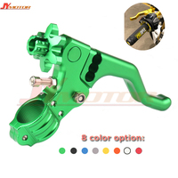 CNC Short Stunt Clutch Lever Perch Motorcycle Brake Clutch Levers Fit For CR80/125 CRF 250R/X 450R/X XR650R