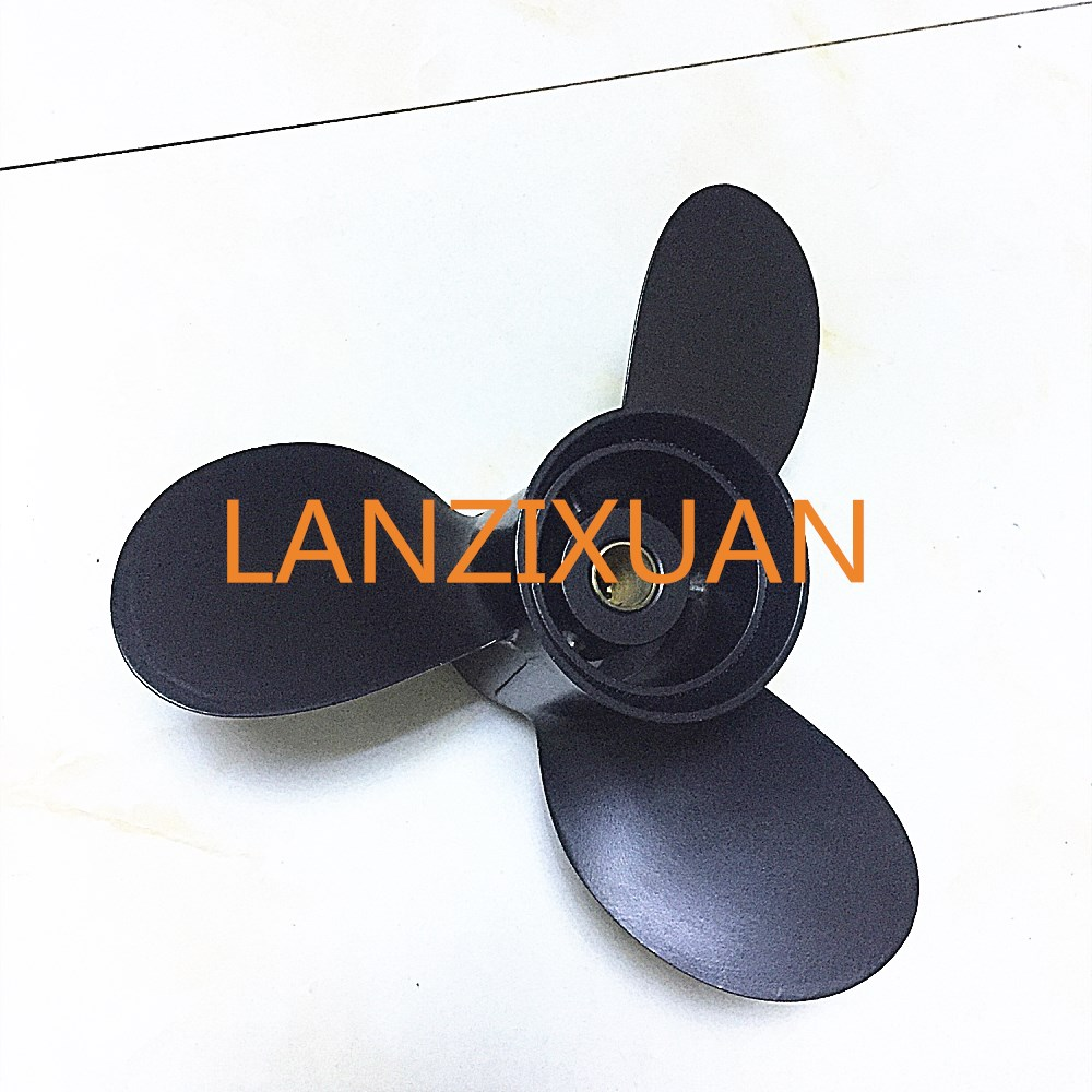 8.9 X 8.3 F8.5 Aluminum Alloy Propeller 8.9x8.3 For Tohatsu Nissaan 8hp 9.8hp / Mercury 4-stroke 9.9hp 8hp Outboard Motors