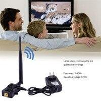 Profesyonel 2.4 GHZ 4 W Wifi Kablosuz Genişbant Amplifikatör Router Güç Aralığı Sinyal Booster Wifi Router Için