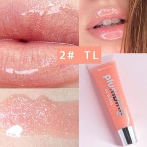 Влажный Вишневый блеск, блеск для губ, блеск для губ, макияж, большой увлажняющий крем для губ, объем, блестящий витамин Е, минеральное масло