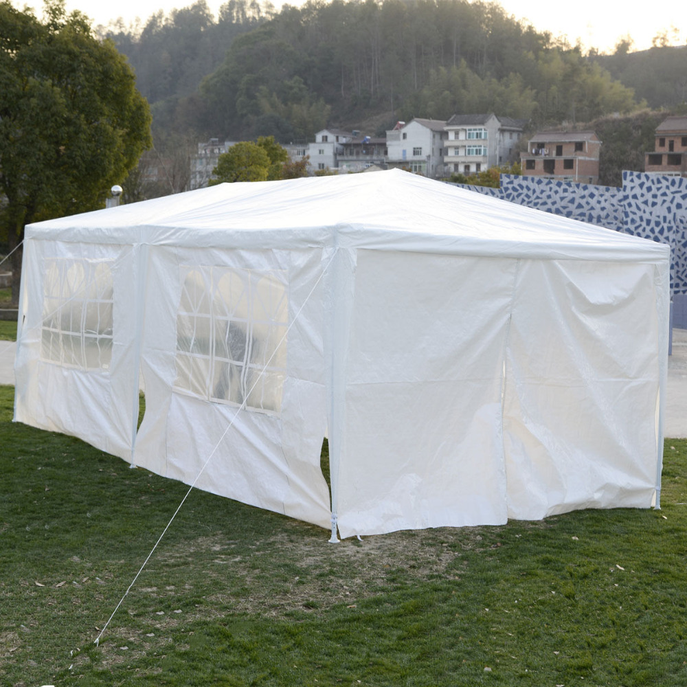 Wedding Tent 10x20 Canopy Party Outdoor Gazebo Event Patio 4 Sidewall 2 Door AP2015WHFDS In Gazebos From Home Garden On Aliexpress