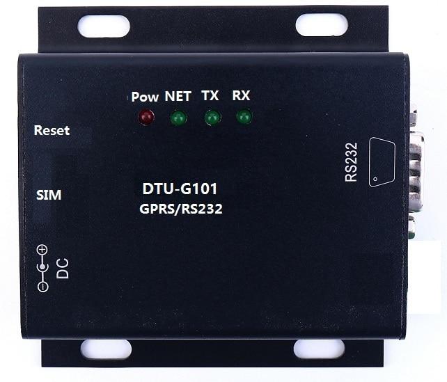 F18908 GPRS Serial Server Wireless Serial Server Serial RS232 to GPRS Server DTU-G101 freeshipping rs232 to zigbee wireless module 1 6km cc2530 chip