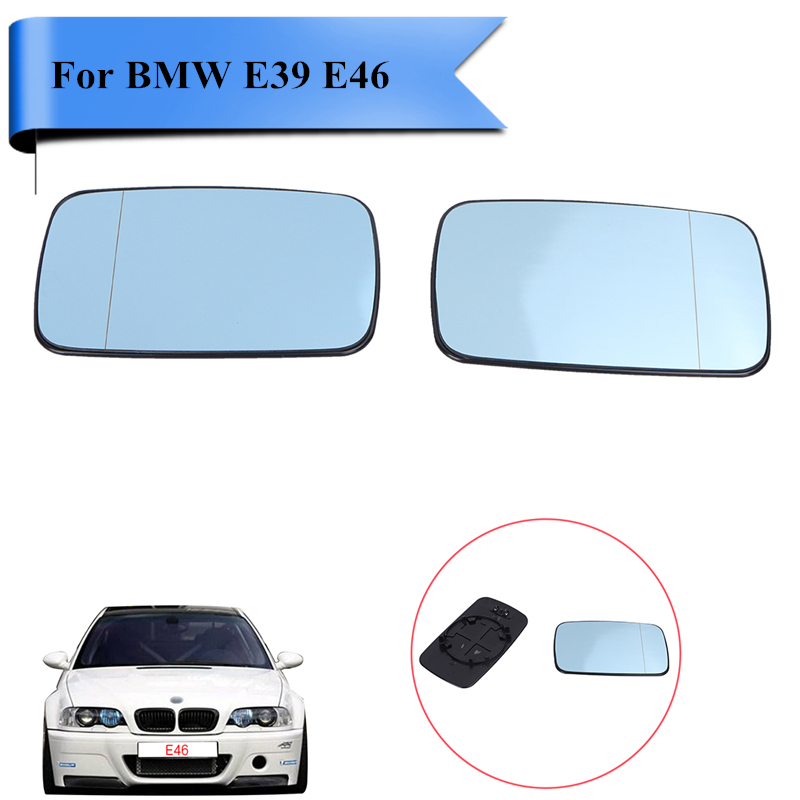 BMW 5 SERIES E39 1995-2004 WING MIRROR GLASS WIDE ANGLE HEATED RIGHT