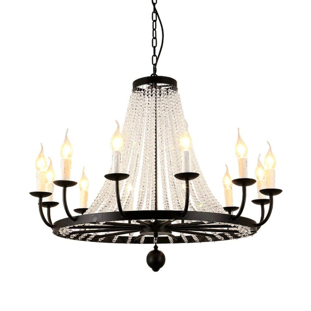 HTB1Ys7FaiFTMKJjSZFAq6AkJpXa5 Modern Flush Mount Home Gold Black LED K9 Crystal Ceiling Chandelier Lights Fixture for Living Room Bedroom Kitchen Lamps