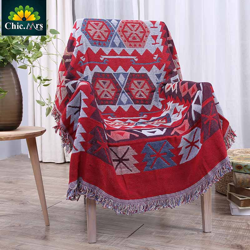 ФОТО Vintage Knitted Fringed Cotton Sunflower Throw Blanket For Bed Sofa Picnic Warm Quilt Cross Cotton Handmade Blanket 2016 NEW