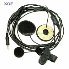 Full Face Moto Motorcycle Bike Helmet Earpiece Headset Mic Microphone for Yaesu Vertex Radio VX-6R 7R 6E 7E 120 127 170 177