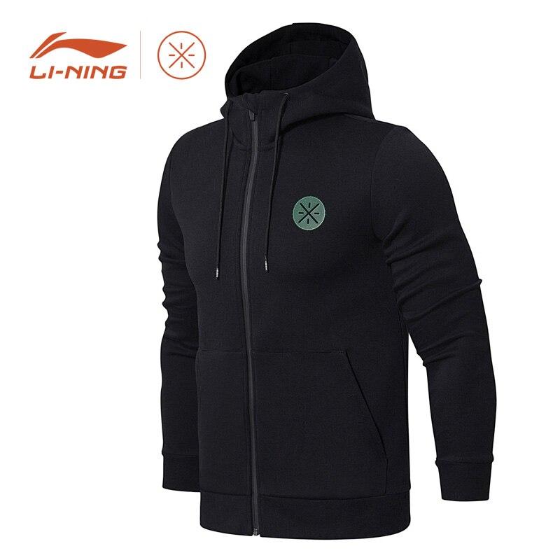 Li Ning Men Wade Jackets Regular Fit WOW 6 Xmas Collocation LiNing Sport Sweater Fitness Coat