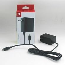 Original AC Adapter Ladegerät für Nintend Schalter NS Spielkonsole Us stecker Ladegerät Adapter Lade Stromversorgung HomeTravel Verwenden
