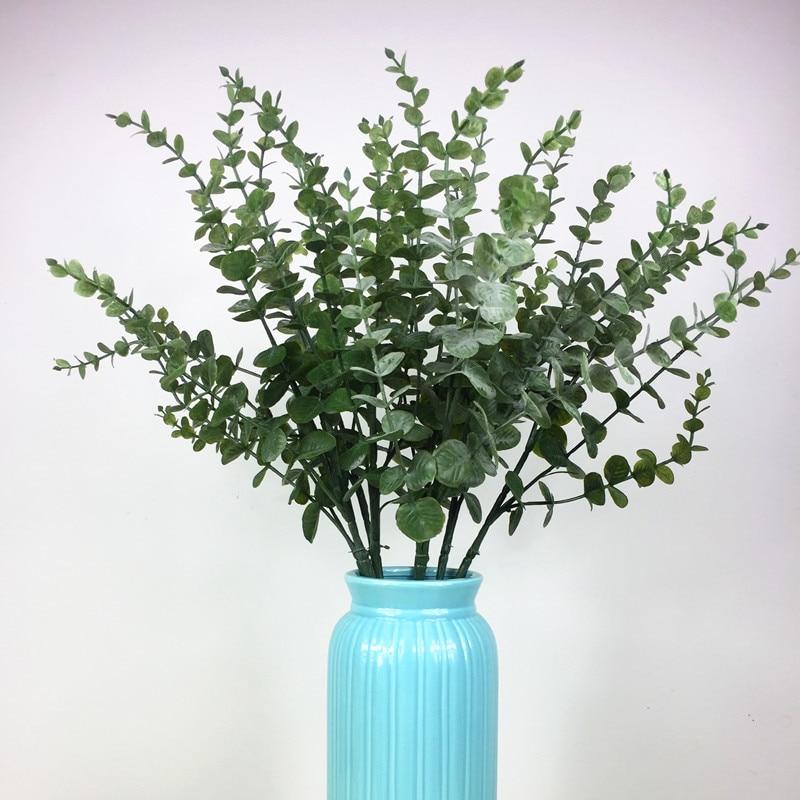 Aliexpress Com Buy 5pcs Green Leave Long Eucalyptus Leaf