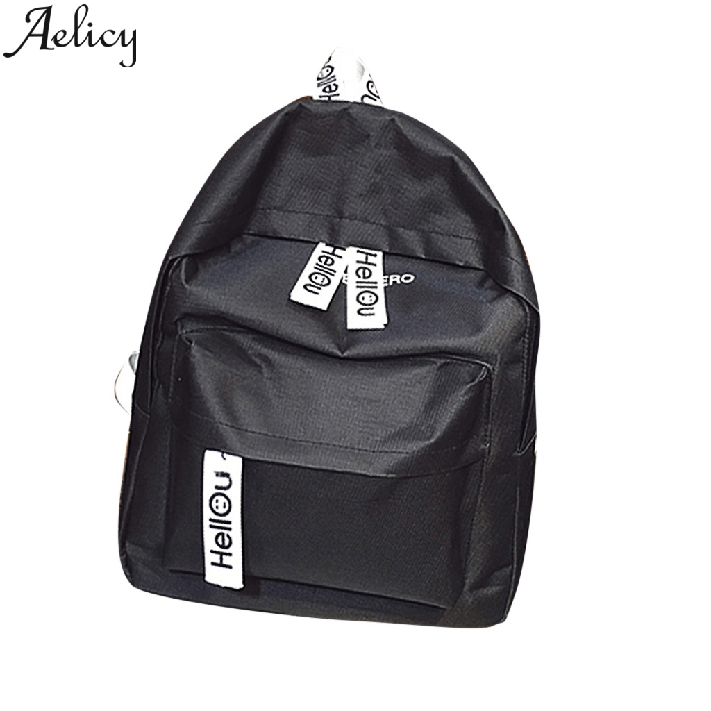 Aelicy New Backpack Ladies Nylon multi-function Backpack Casual anti-theft Backpack Teenager Girl Bag 2019Aelicy New Backpack Ladies Nylon multi-function Backpack Casual anti-theft Backpack Teenager Girl Bag 2019