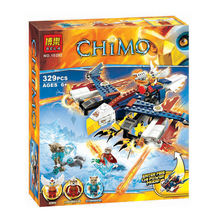 Bela 10292 Eris' Fire Eagle Flyer 329pcs Minifigures toys gifts building blocks for child
