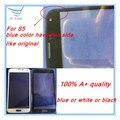10 unids/lote 100% A + Calidad LCD Frontal Exterior de la Lente de Cristal de la Pantalla Táctil Para Samsung Galaxy s5 G900F/H I9600 Glass Envío Gratis