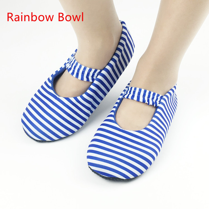 Rainbow Bowl New Autumn Women Home Soft Plush Slippers Winter Warm Cotton-padded Shoes Coral Fleece Indoor Shoes Floor Socks autumn and winter carton lovers slippers indoor cotton padded floor warm slippers plush for women slippers