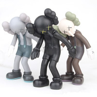 Modern Abstract Cartoon Figure Statue Sculpture Ornaments Home Decoration Accessories Cartoon Statue