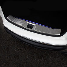 4PCS Exterior Rear Tail Light Lamps Mouldings For Toyota C-HR CHR 2016-2018