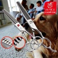 Pet ترقق مقص المهنية 6.0 بوصة اليابان 440c الفولاذ الصلب ل تيدي الكلب الاستمالة المقصات نوعين من معدل التخفيف