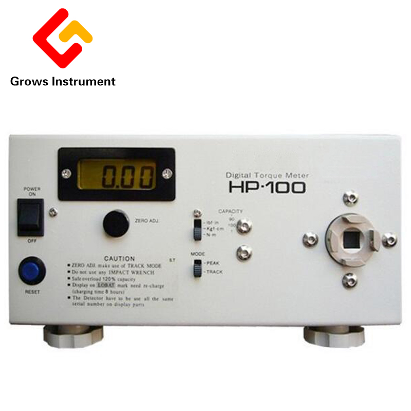 HP-100 High Quality Digital Torque Meter Screw Driver Wrench Measure Tester Force Measuring Instruments Torque Meter цена