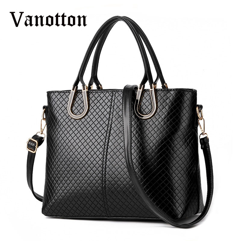 где купить 2018 Brand Women's Bag Handbag Pu Leather Bags for Women Handbag Fashion Diamond Lattice Woman Shoulder Bag Women Messenger Bags по лучшей цене