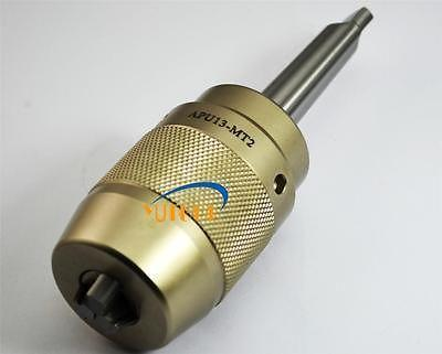 ФОТО Precision Tail Stock MT3 APU13 Keyless drill chuck holder 13mm Milling and lathe
