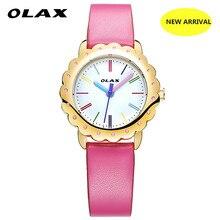 OLAX Nova Chegada Doce Bonito Estudante de Quartzo das senhoras do Relógio À Prova D' Água Decoração Relógios Moda Estilo Multi-Escolha da cor das Mulheres